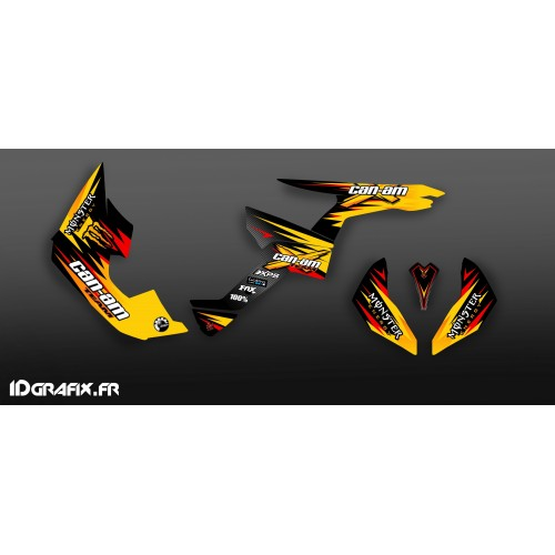 Kit-deco-100 % Eigene Full - Can Am Renegade -idgrafix