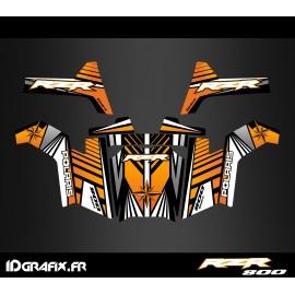Kit de decoració Línia d'Edició (Taronja) - IDgrafix - Polaris RZR 800S
