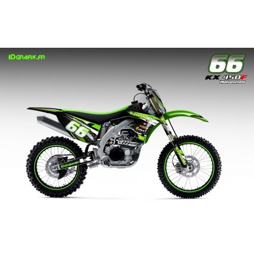 Kit déco Factory series pour Kawasaki KX/KXF-idgrafix