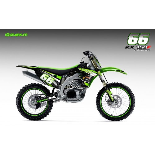 Kit deco Factory series for Kawasaki KX/KXF - IDgrafix