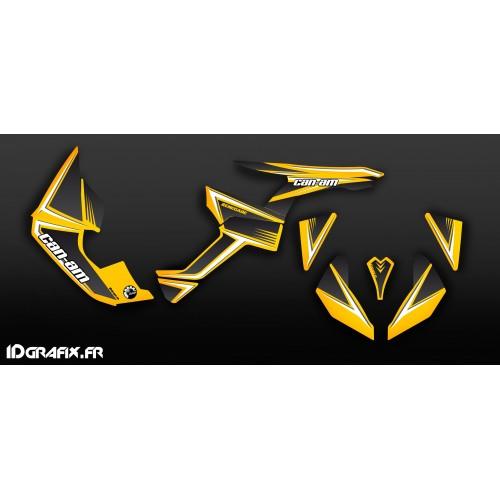 Kit decorazione Giallo/Grigio Classic Series Medio - IDgrafix - Can Am Renegade -idgrafix