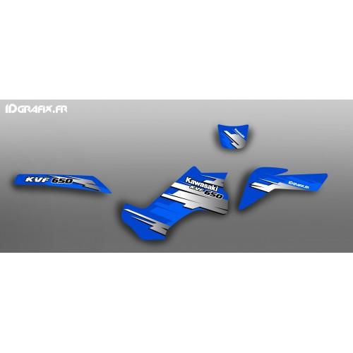 Kit-deco-100 % Persönlich für Kawasaki KVF 650 -idgrafix