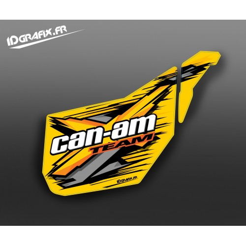 Kit décoration Porte Origine XTeam (Jaune) - IDgrafix - Can Am -idgrafix