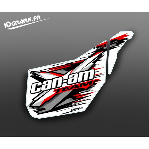Kit décoration Porte Origine XTeam (Rouge) - IDgrafix - Can Am