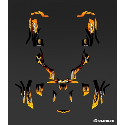 Kit-deco-100 % Eigene Full - Can Am Outlander G1 -idgrafix