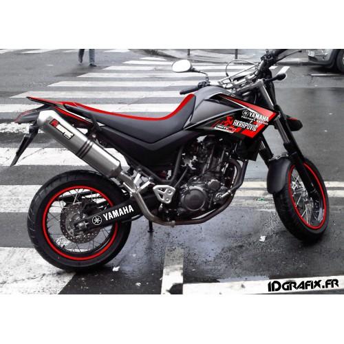 Kit déco 100 % Personnalisé pour Yamaha 660 XT -idgrafix