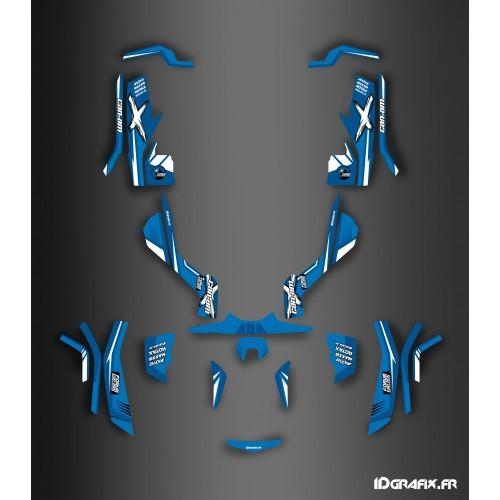 Kit de decoración Foro Soy de la Serie Azul - IDgrafix - Can Am Outlander (G1) -idgrafix