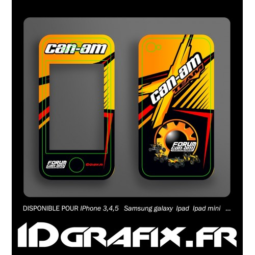 Kit Déco Forum Can Am - Iphone 5 -idgrafix