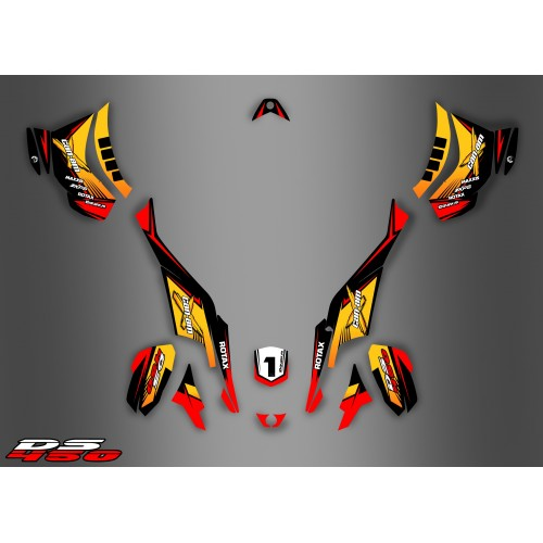 Kit dekor Race Can-Am Serie - Idgrafix - Can Am DS 450 -idgrafix