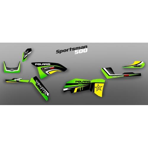 Kit déco 100 % Perso pour Polaris 500 Sportsman (2012) -idgrafix