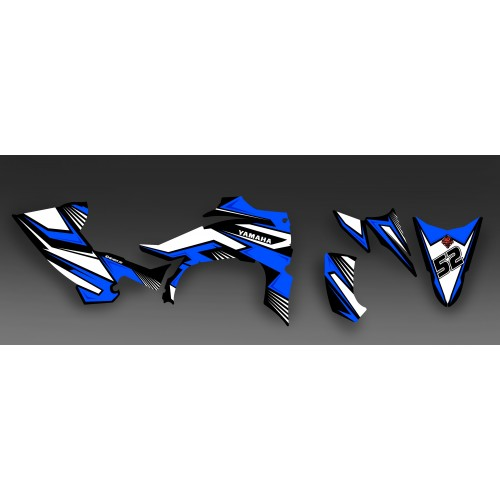 Kit decoration Fury Blue - IDgrafix - Yamaha YFZ 450 / YFZ 450R-idgrafix