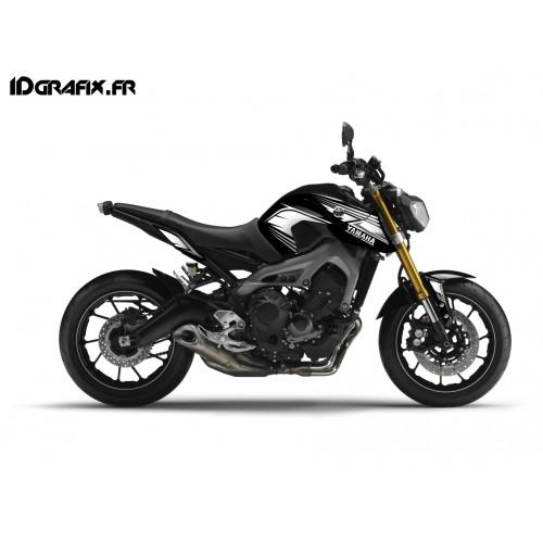 Kit décoration Racing gris- IDgrafix - Yamaha MT-09 (jusqu'à 2016)-idgrafix