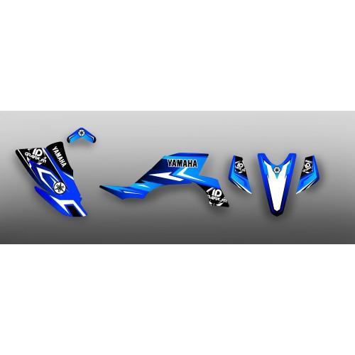 Kit décoration Team IDgrafix Blue - IDgrafix - Yamaha YFZ 450-idgrafix