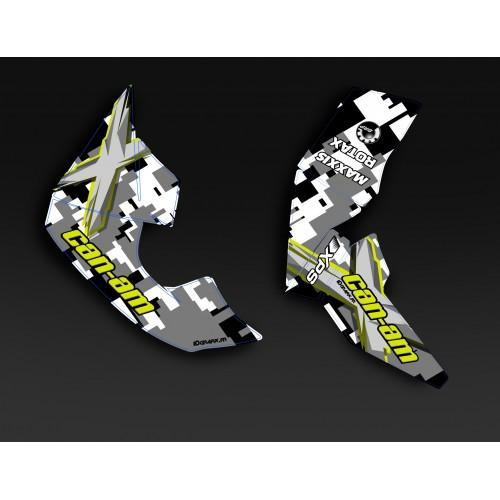 Kit de decoración de Camuflaje de la Serie Mat - IDgrafix - Can Am Renegade XXC -idgrafix