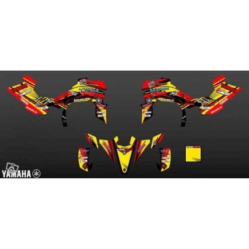 Kit déco A.Bordes Replica pour YAMAHA 450 YFZ R 2014 -idgrafix