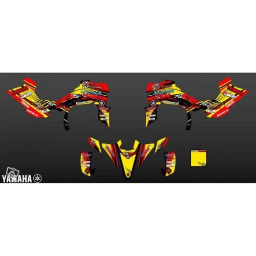 Kit-deco-A. Bordes Replica für YAMAHA YFZ 450 R 2011 -idgrafix