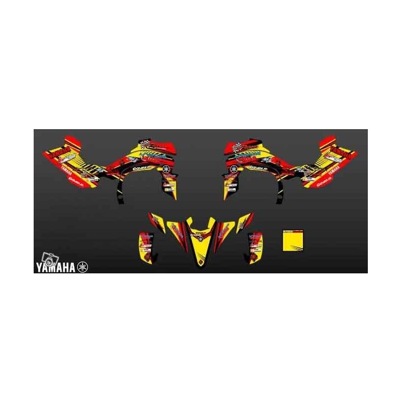 Kit déco A.Bordes Replica pour YAMAHA 450 YFZ R 2011-idgrafix