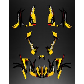 Kit decoration Full Wasp (Yellow/Red) - IDgrafix - Can Am series The Outlander