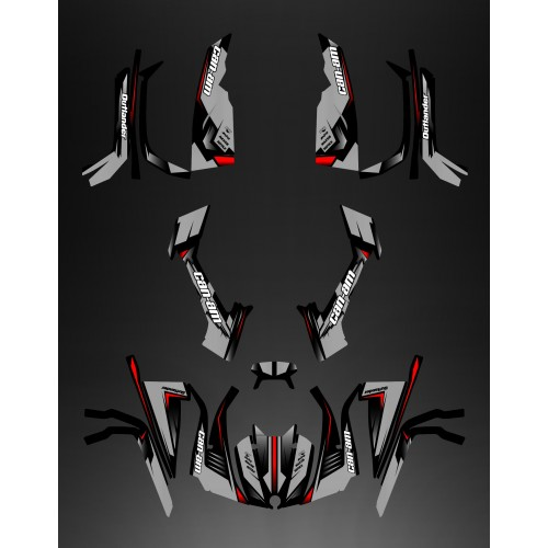 Kit de decoración Completa de la Avispa (Gris) - IDgrafix - ¿Soy La serie Outlander -idgrafix
