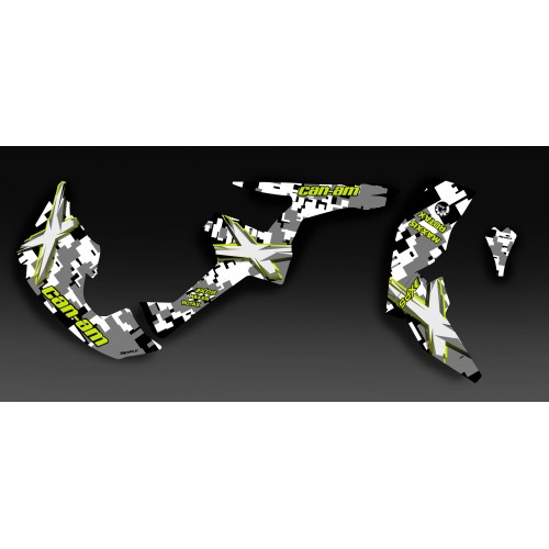Kit di decorazione Digitale Camo Full - IDgrafix - Can Am Renegade -idgrafix