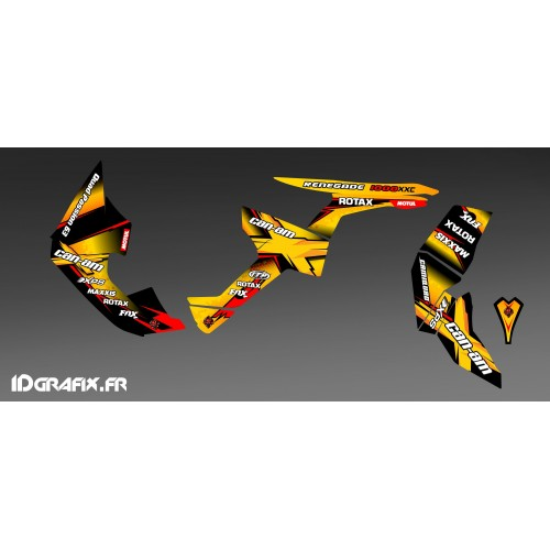 Kit déco 100 % Perso pour Can Am Renegade - Mme BOCHE -idgrafix