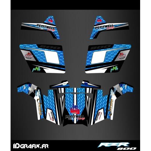 Kit dekor RZR 800 + Türen - IDgrafix - Herr MAHUL -idgrafix