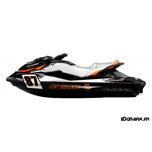 Kit décoration Monster (Medium)- Jet Extreme pour Seadoo GTI-idgrafix