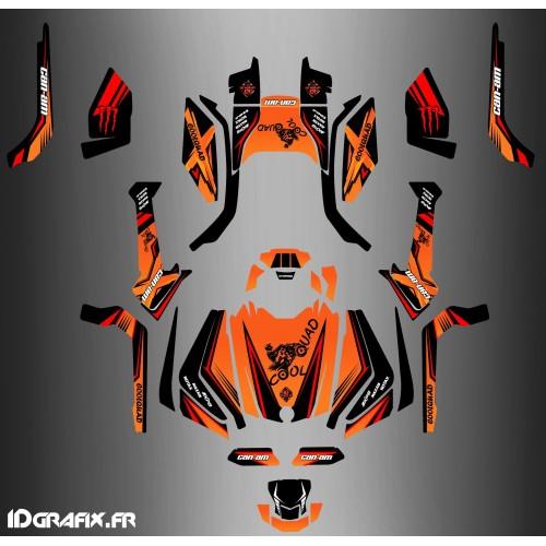 Kit-deco-Eigene Full-Can-Am Outlander G2 - CoolQuad