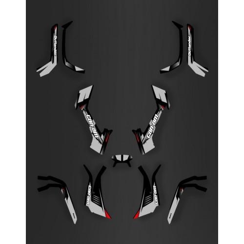 Kit Luce della decorazione di Vespa (Grigio) - IDgrafix - Can Am serie Outlander -idgrafix