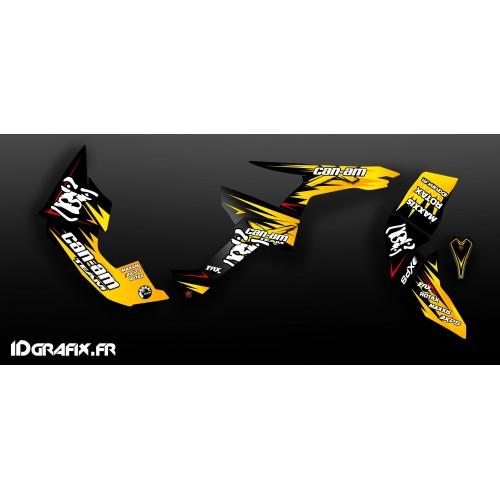 Kit de decoración de la Gorila de la Serie Completa IDgrafix - Can Am Renegade -idgrafix