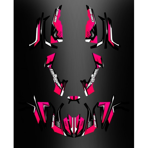 Kit decoration Full Wasp (Pink) - IDgrafix - Can Am series The Outlander - IDgrafix