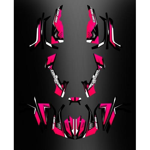 Kit dekor Full Wasp (Pink) - IDgrafix - Can-Am L-serie Outlander -idgrafix