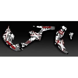 Kit decoration Digital Camo Red Full - IDgrafix - Can Am Renegade
