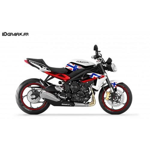 Kit décoration Racing orange - IDgrafix - Yamaha MT-09 -idgrafix