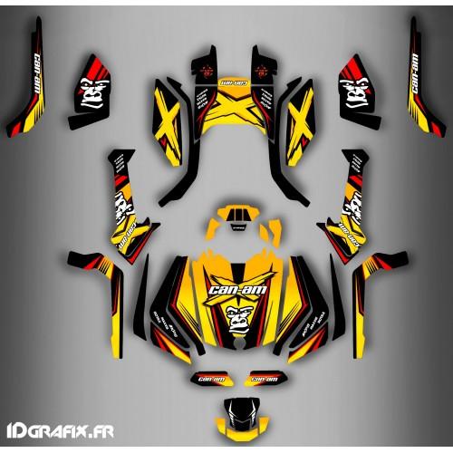 Kit dekor Gorilla-Series-Full - IDgrafix - Can-Am Outlander G2 - () -idgrafix