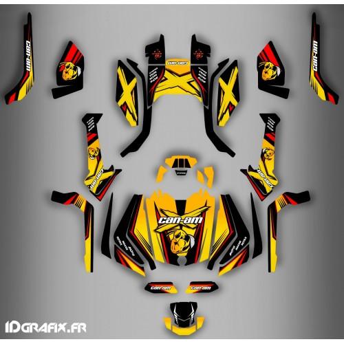Kit de decoración Hornet de la Serie Completa IDgrafix - Can Am Outlander (G2) -idgrafix