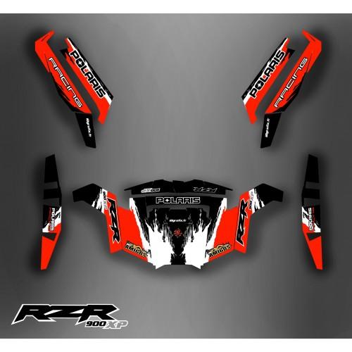 Kit décoration RZR 900 XP - IDgrafix - Los Amigos - IDgrafix