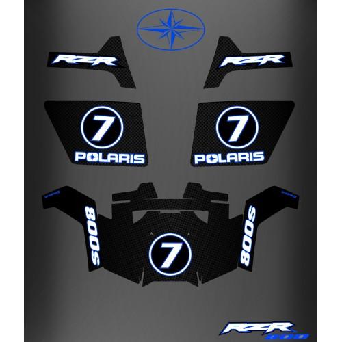 Kit de décoration RZR 800S + Portes - IDgrafix - Sr DELATTRE -idgrafix