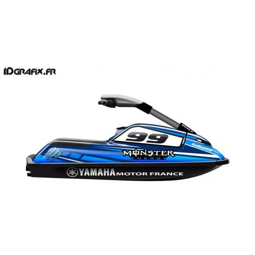 Kit decorazione Mostro Personalizzato per Yamaha Superjet 700 -idgrafix