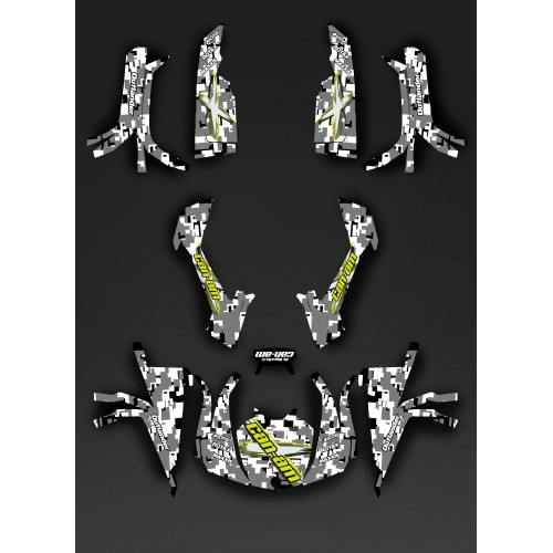 Kit decoration Full Digital Camo - IDgrafix - Can Am series The Outlander - IDgrafix