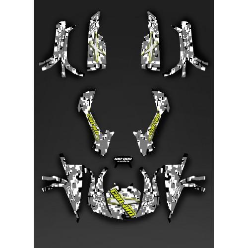Kit dekor Full Digital Camo - IDgrafix - Can-Am L-serie Outlander -idgrafix