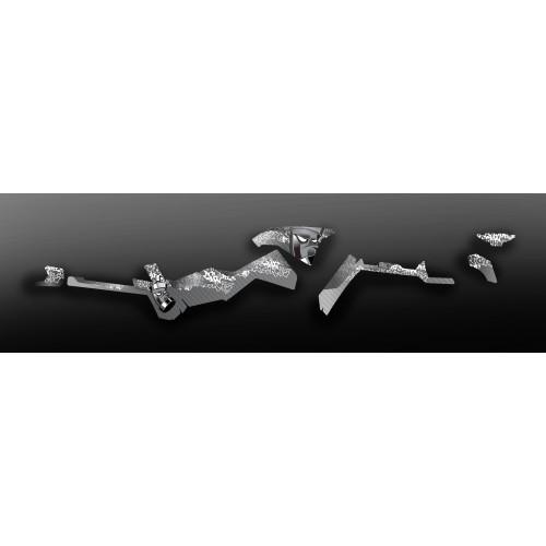 Kit de decoració de Carboni Limitada (Gris) de la Llum - IDgrafix - Polaris 570 Esportista
