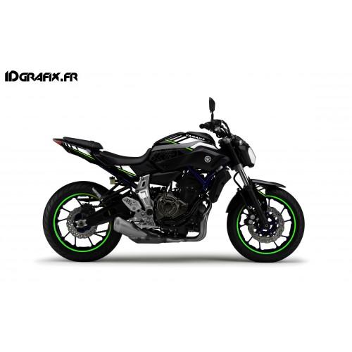 Kit de decoración LTD Verde - IDgrafix - Yamaha MT-07 -idgrafix