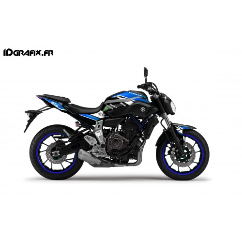 Kit décoration GP Series Bleu - IDgrafix - Yamaha MT-07
