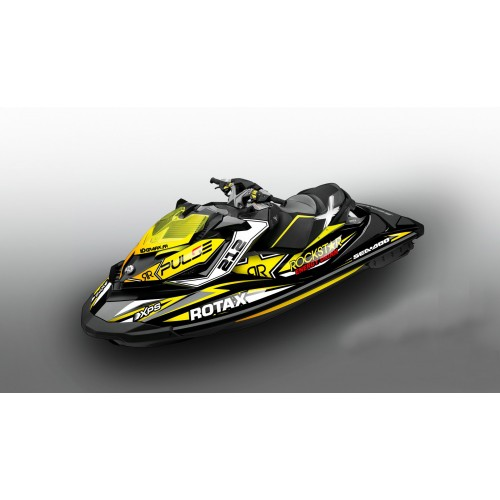 Kit decoration Rock Yellow Seadoo RXP-X 260 / 300 - IDgrafix