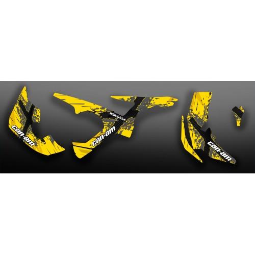 Kit de decoración de XCross Serie Completa IDgrafix - Can Am Renegade -idgrafix