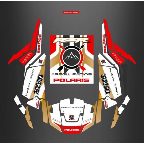 Kit décoration RZR 1000 + Portes + Toit - IDgrafix - ANDY