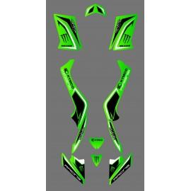 Kit déco personnalisé Monster - Kymco 50 Maxxer