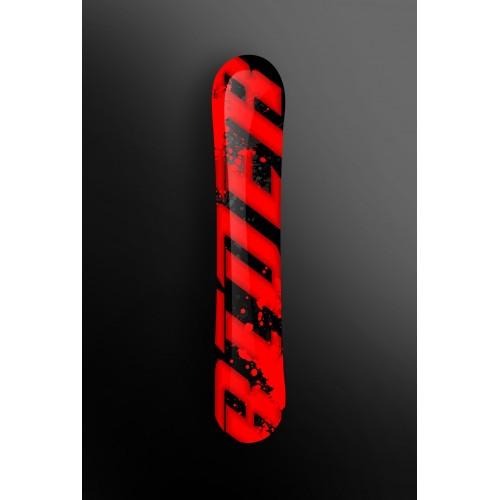 Kit-deco-100 % Custom Rider Rot für SnowBoard -idgrafix