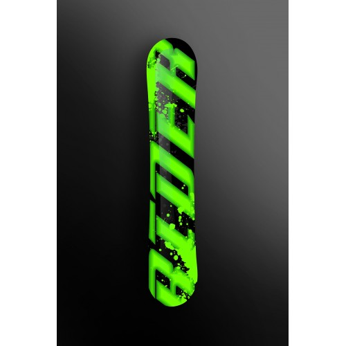 Kit-deco-100 % Custom Rider Grün SnowBoard -idgrafix